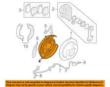 MITSUBISHI OEM Rear Brake-Backing Plate Splash Dust Shield MB858534