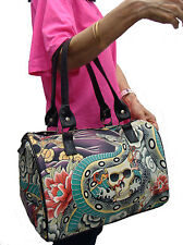 US HANDMADE DOCTOR BAG SATCHEL BAG STYLE WITH ZEN CHARMERS PATTERN , NEW