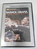BARACK OBAMA CAMINO HACIA EL CAMBIO DVD SLIM Nueva