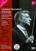 Leonard Bernstein Conducts Stravinsky (2014, DVD New)
