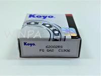 1 x 6201 2RS/ RS KOYO 2 RUBBER SHIELDED BALL BEARING 10X30X9CM NEW