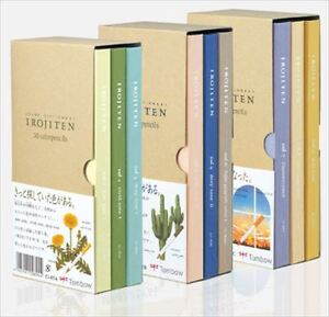 Tombow Coloring 90 Pencil Irojiten 1 2 3 Complete Set CI-RTA CI-RTB CI-RTC