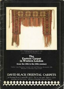BOOK - Eastern Carpet in Western London from the 18th to the 20th Century 1983