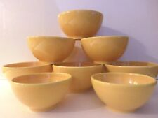 Waechtersbach Germany Fun Factory Buttercup Yellow Fruit/Dessert & Dip Bowls