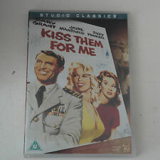 DVD Fox Studio Classics - Kiss Them For Me [DVD] Cary Grant
