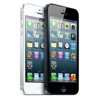 Apple iPhone 5 16BG 32GB 64GB Factory GSM Unlocked AT&T, T-Mobile + More