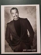 Ben Guillory autographed Photograph - coa