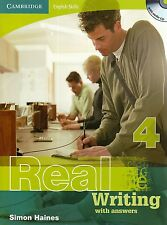 Cambridge English Skills REAL WRITING 4 with Answers & AUDIO CD by Haines @New@