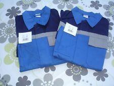 Arbeitsjacke Berufskleidung Blau- Grau Größe 52