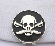 Pirate Golf Ball Marker - W/Bonus Magnetic Hat Clip