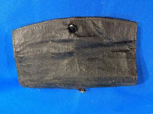 Antique Canvas Pouch Tobacco Barber Scissors Bag VTG Canvas Black Old