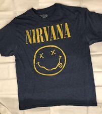 Nirvana smiling face T Shirt size L Large grunge 90s soundgarden