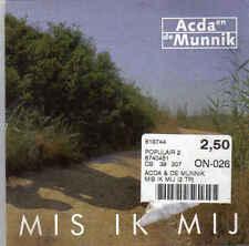 Acda en de Munnik-Mis Ik Mij cd single