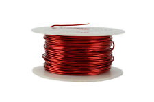 TEMCo Magnet Wire 18 AWG Gauge Enameled Copper 8oz 155C 100ft Coil Winding