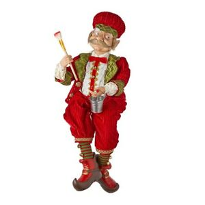 "Raz Imports Santa's Little Helpers 29"" Posable Painter Elf"
