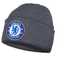 Chelsea FC - Gorro básico oficial de punto con el escudo del club - Para  niño d277b48284f
