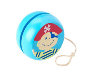 Wooden Pirate Yoyo Boys Traditional Toys Christmas Stocking Gifts Presents