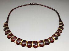 "17,9"" Elegant Baltic Amber Cloepatra Necklace Beads for Woman Cognac/Citrine"