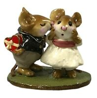 Wee Forest Folk M-192 First Kiss! With Box Collectible