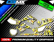 RMZ Suzuki 250 Fox Motocross MX ATV QUAD Graphics FULL DECAL Kit deco