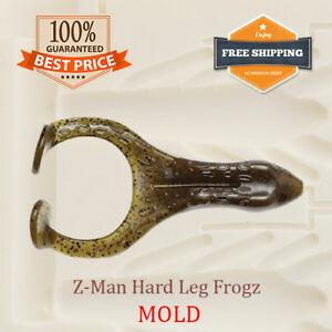 Bait Mold Z-Man Hard Leg Frogz Frog Lure Toad Soft Plastic 70-100 mm