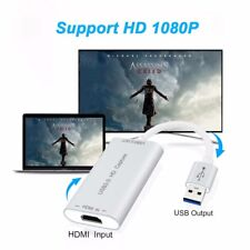 HDMI Video Capture Card Device USB 3.0 1080P Game Video & Audio Grabber Recorder