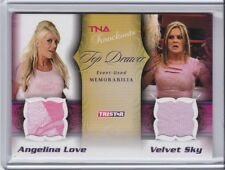 2009 TRISTAR TNA KNOCKOUT TOP DRAWER MEMORABILLA 29/175 LOVE AND SKY
