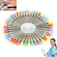 Dental Polishing Polisher Prophy Brush Brushes Nylon Latch Flat Prophylaxis
