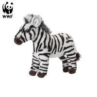 Wwf Animal en Peluche Zèbre (23cm) Réaliste à Câliner Afrique Neuf