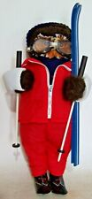 Vintage Abercrombie & Fitch 'The Skier' Jungle Toys of London Owl Doll