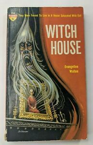 Witch House Evangeline Walton 1962 Monarch Horror pb book