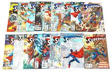 Superman #2,3, 5, 7-9, 10(variant),11-20 Lot 2011 All 1st Prints DC New 52 VF/NM