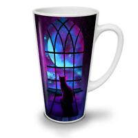 Cat Stare Into Space NEW White Tea Coffee Latte Mug 12 17 oz | Wellcoda