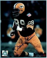 AUTOGRAPHED 8x10 Color Photo Dave Robinson - HOF - Green Bay Packers Penn State