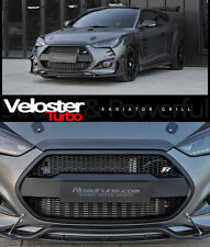 Devil Radiator Grille Grill Matte Black For Hyundai Veloster Turbo 2012 2017