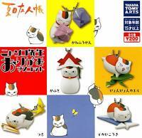 Natsume's Book Of Amigos Nyanko Sensei Todo 5 Juego Gashapon Mascota Completo