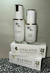 50ml TS Life Infusion Skincare Vital Eyes Concentrated Eye Serum + 50ml ILLUMEN