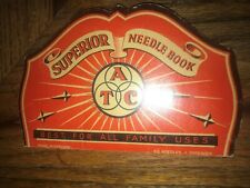 Atc Superior Used Needle Book Made in W