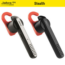 Black&Silver Jabra Stealth Wirless Bluetooth Headset HD Voice Earphone NFC