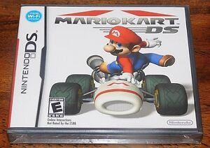 Mario Kart DS NES Nintendo DS GAME NEW Yfold RACING YOSHI SEALED NOT FOR RESALE