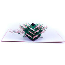 3D Music Greeting Cards Wedding Birthday Christmas Postcard With Envelope B