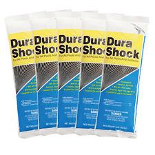 Nu-Clo Dura Shock Dichlor Granular Swimming Pool Shock - 5 x 1 lb Bags