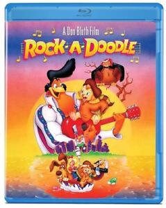Rock-A-Doodle [New Blu-ray]