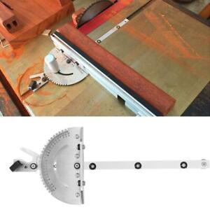 Gehrungslehre Winkelanschlag für Tischsäge Säge Zubehör Holzbearbeitung Werkzeug