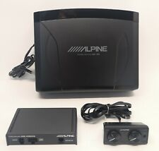 "Alpine SWE-1200 Car Active 8"" (20cm) Amplified Under Seat Subwoofer 150W EX-DEM#"