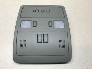 2005 2011 CADILLAC STS OVERHEAD ROOF LIGHTS HOMELINK SUN ROOF SWITCH OEM LAMP