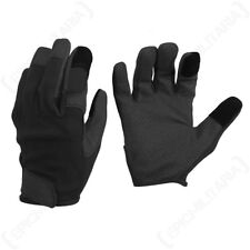 Black Combat Touch Gloves - Phone Screen Winter Army Military Work All Sizes New