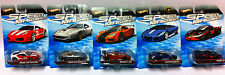5x Hot Wheels Speed Machines Ferrari/McLaren/Lamborghini NEW/OVP