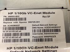 HP 399593-B22 BLC 1/10GB VC-ENET Module 399725-001