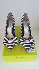 Ted Baker Striped Bow Shoes UK Size 4